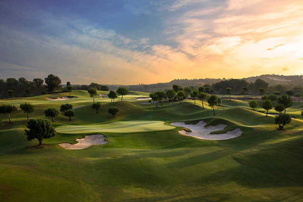Hoyo 16 de Las Colinas Golf & Country Club