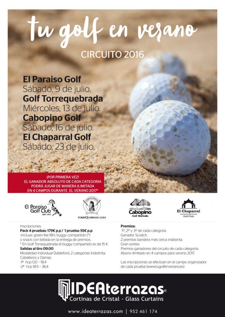 Circuito Tu golf en Verano