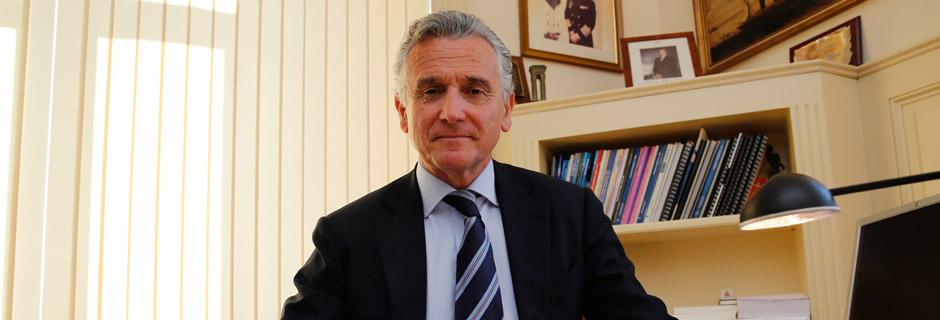 Paulino Plata, presidente de la Autoridad Portuaria de Málaga