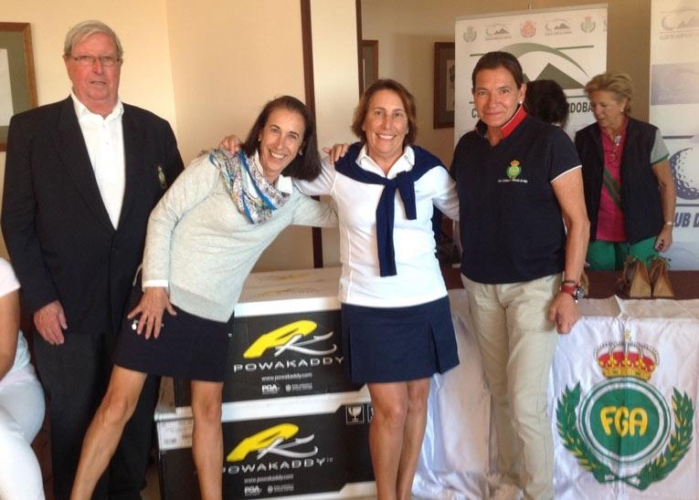 Aurora y Mª José Hidalgo ganan el Trofeo Andalucía de Señoras