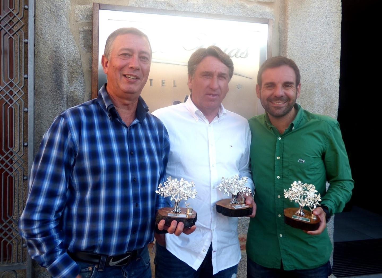 Juanje Quirós cosecha para la Asociación Malagueña de la Prensa Deportiva el sexto trofeo del torneo de golf de Pozoblanco.