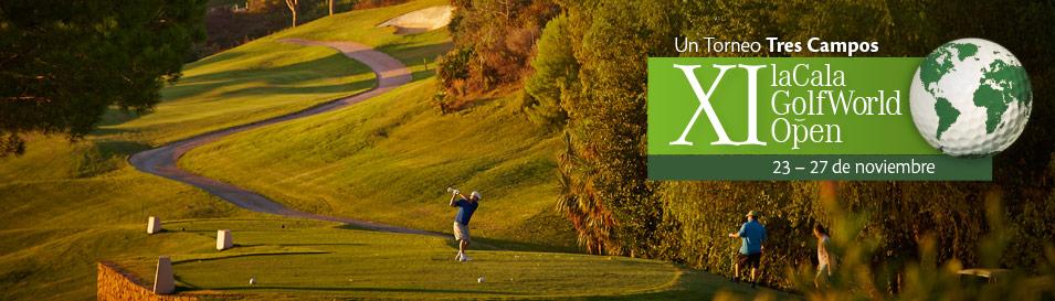 Las previsiones para la XI edición de La Cala Golf World Open indican que se superarán la centena de inscritos