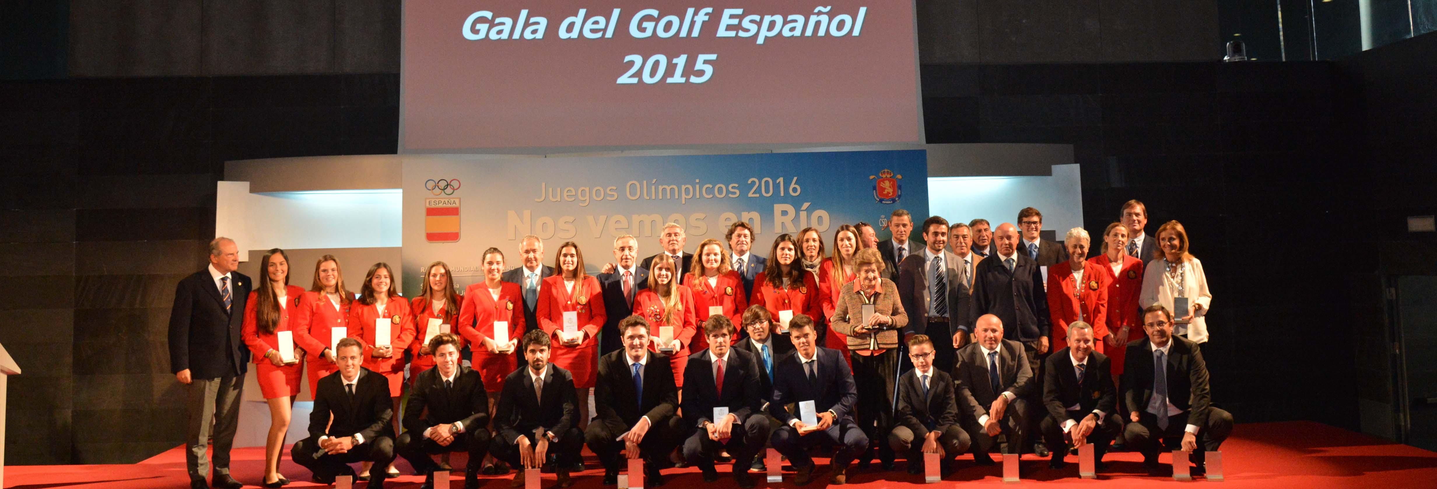 Gala Golf Español 2015