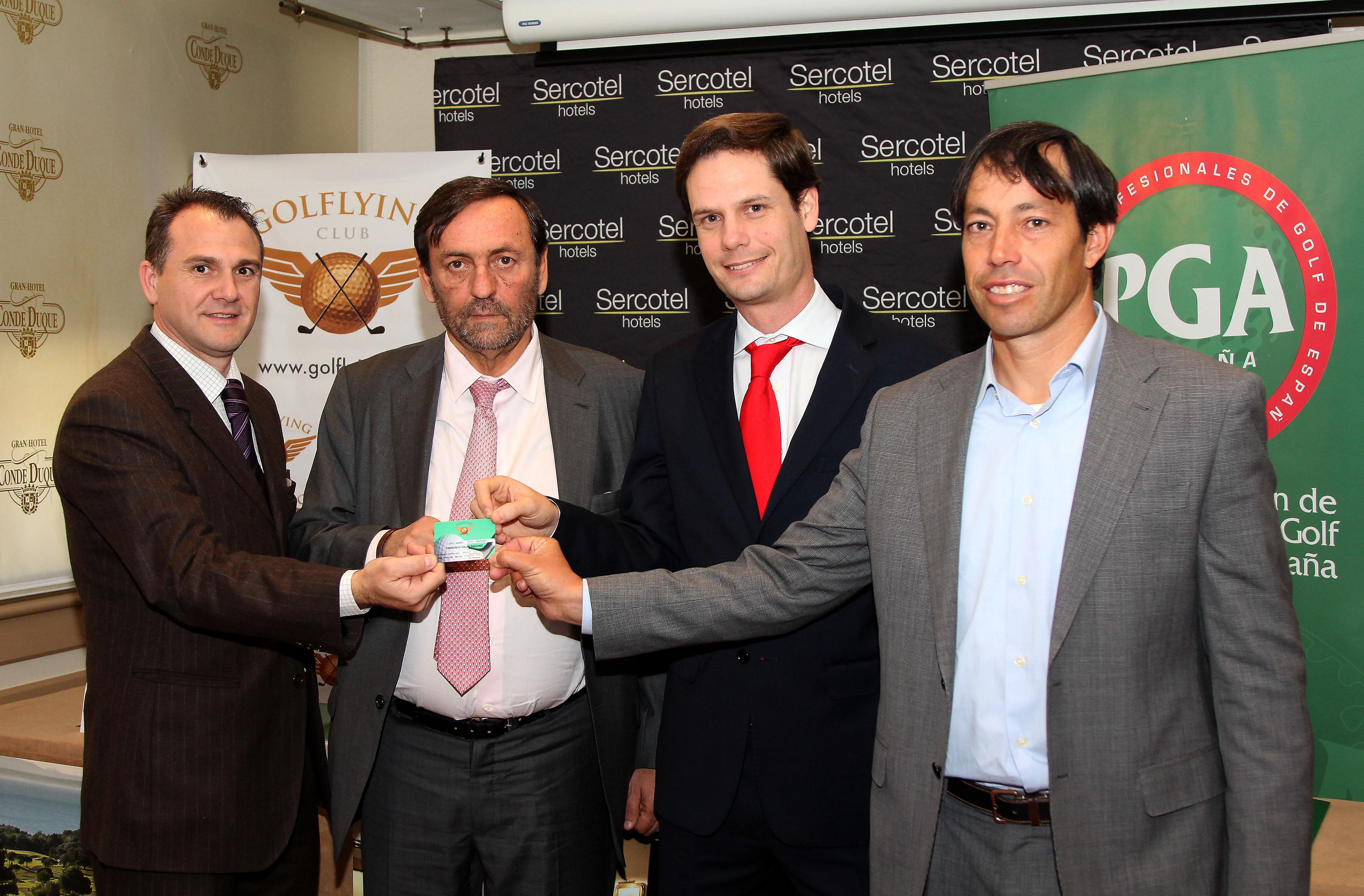 La Asociación de Profesionales de Golf de España, PGA, y Golflying