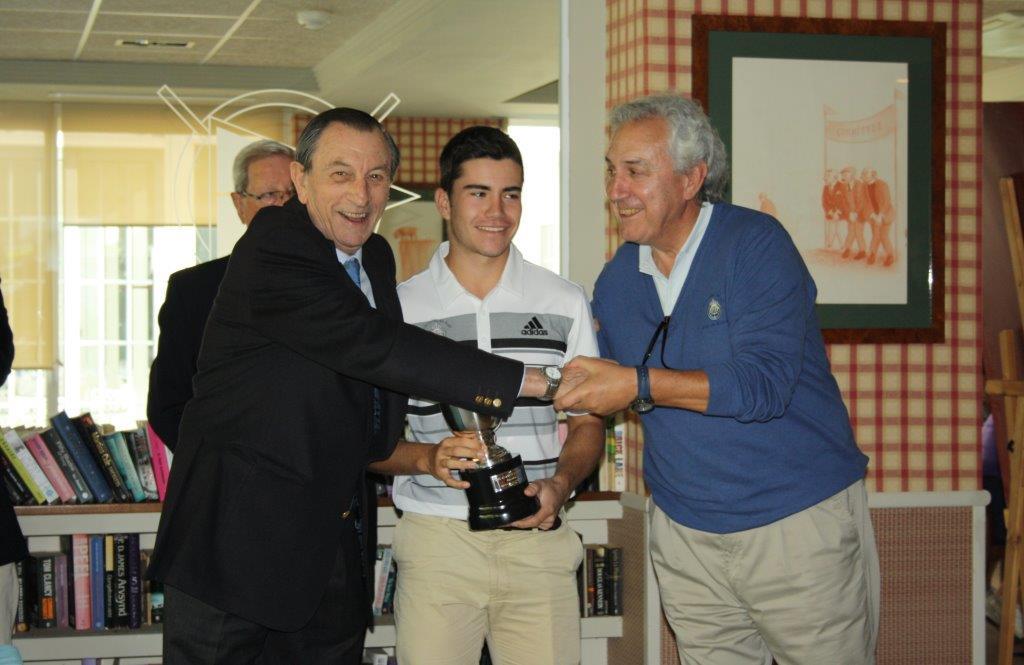 El asturiano Iván Cantero se hace con la Copa Andalucía en el Real Club de Golf Guadalmina.