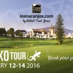 The Gecko Tour se celebra del 12 al 14 de enero en Los Naranjos GC.