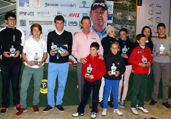 Ganadores del Circuito Miguel Ángel Jiménez 2016.
