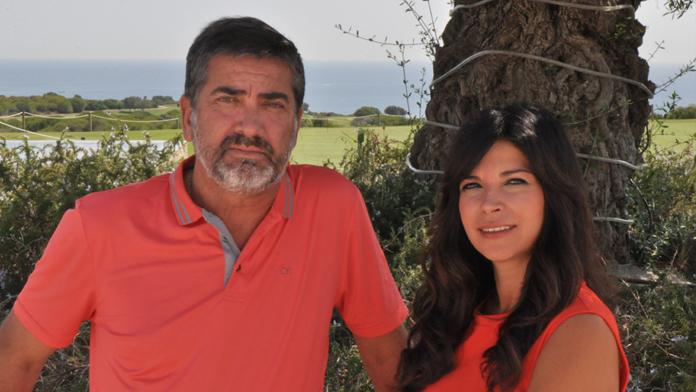 Juan Pablo Arriaga y Ana Berbel de Alcaidesa Golf Link Resort