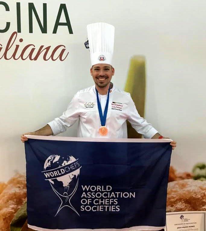 Daniel García Peinado medalla de bronce en la Global Chefs Challenge