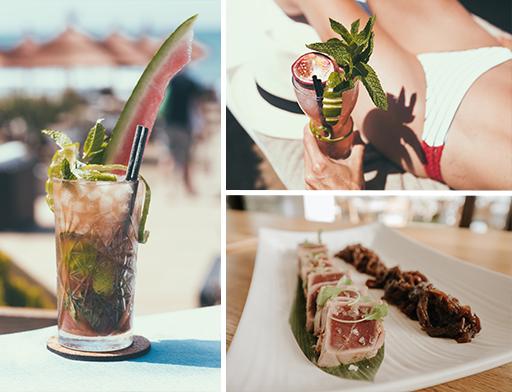 En Salduna Beach se puede disfrutar de una gran variedad gastronómica