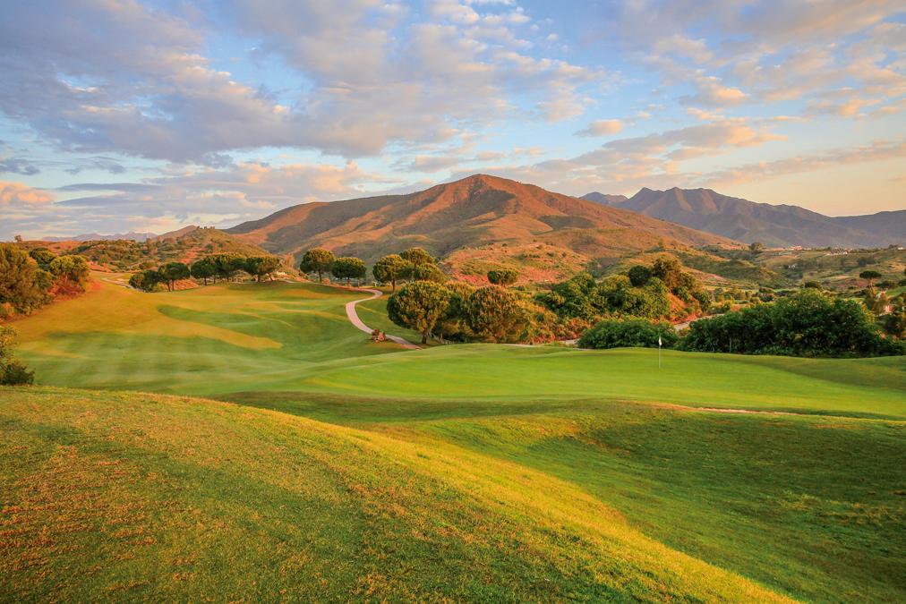El Campo América es uno de los tres recorridos que conforman La Cala Golf Resort
