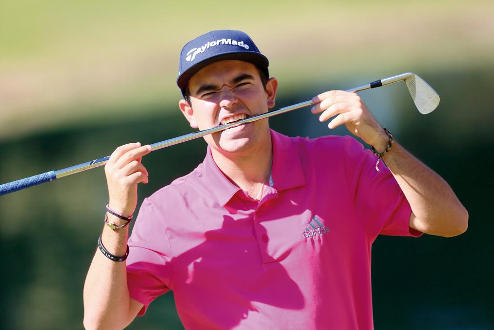 Ángel Hidalgo posa para la entrevista de Golf Circus en Guadalmina. Foto: Rafa Cabrera