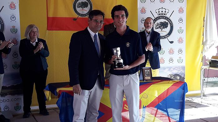 Pablo Ereño ganador Puntuable Nacional sub16