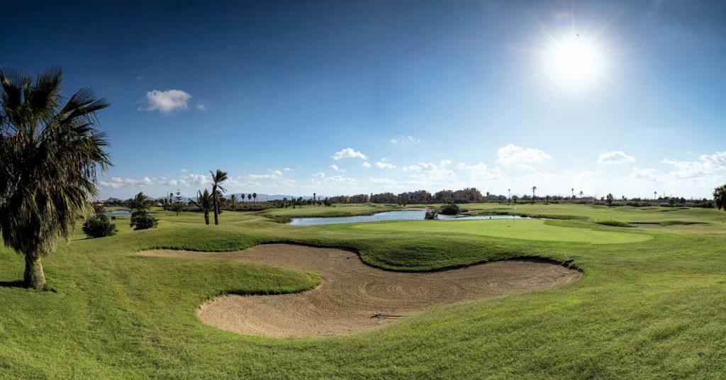 La Serena Golf en Murcia. Campo de golf