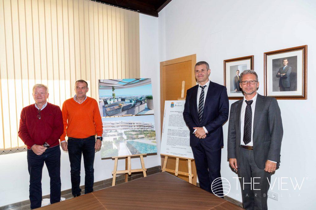 Presentación del proyecto The View Marbella