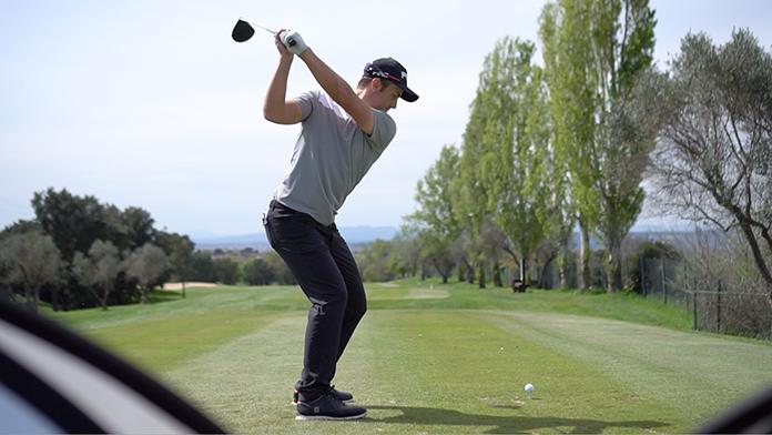 Scott Fernández durante su participación en el Circuito Nacional 2017 (Peralada Golf)