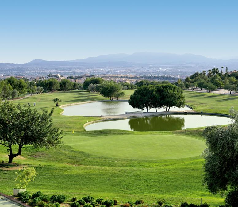 Club de golf Altorreal en Murcia. Campo de golf