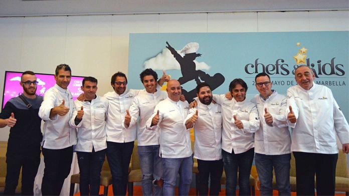 Chefs & KIds en Los Monteros Marbella