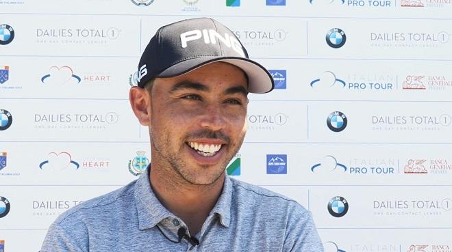 Sebastián García tras la segunda jornada en el Abruzzo Open del Alps Tour