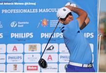 Manuel Quirós en el tee del 1 (2017)