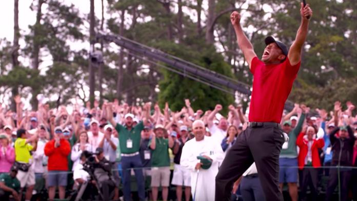 El rugido de Tiger Woods