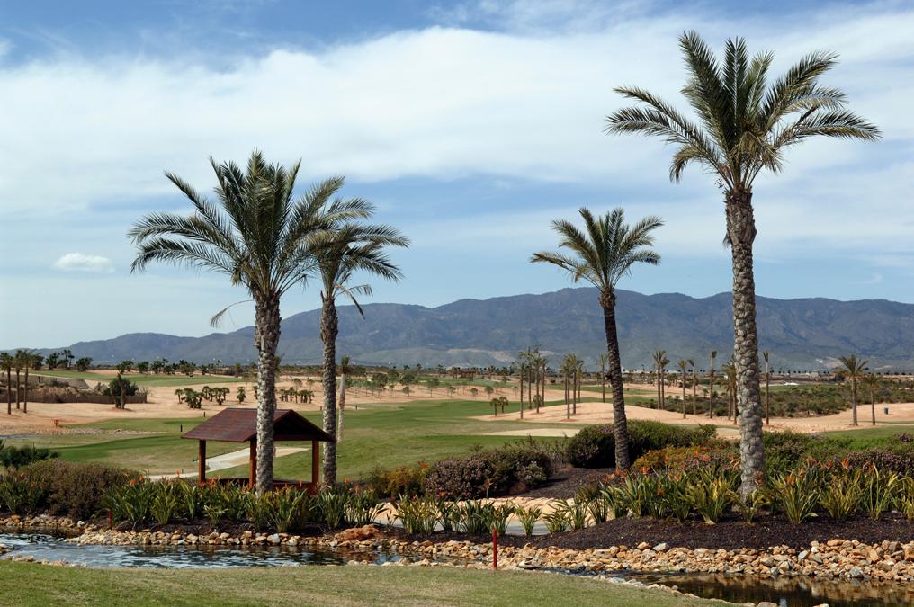 Campos de golf en Murcia