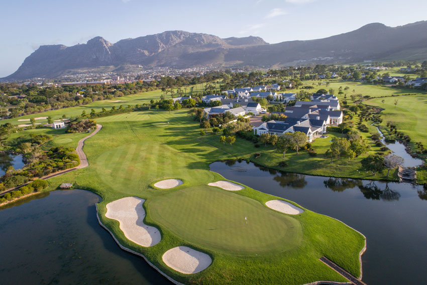 Vista general Steenberg Golf Club