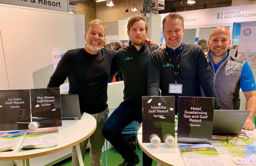 Grupo GAT en la feria de golf de Dinamarca