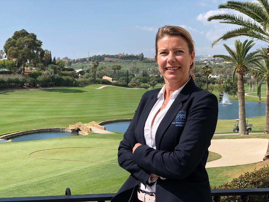 Linda Marie-Fernqvist, de Los Naranjos Golf Club