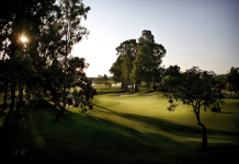 Santana Golf atardece