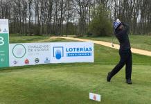 Sebastián García tee 18 Izki Golf