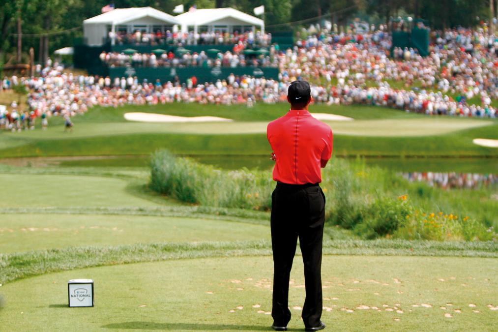 Tiger Woods en el Master de Augusta 2019
