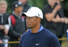 """""""Tiger Woods up close"""" (CC BY 2.0) by TourProGolfClubs"""