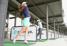 Beatriz Recari, Silvia Bañón y Carmen Alonso - Golf Circus