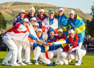 Europa gana la Solheim Cup con la participación de las españolas Carlota Ciganda y Azahara Muñoz
