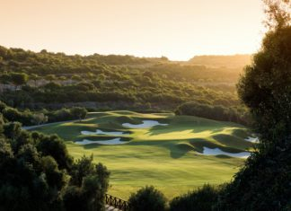 Finca Cortesin 12th tee - picture Steve Carr
