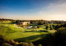 Overlooking the 17th and 13th Green on LumineHills - Golf Circus
