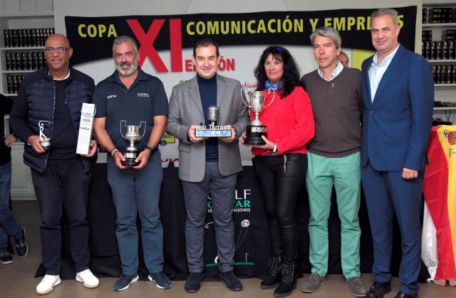 La Copa Comunicación y Empresas completa la temporada difundiendo los valores del deporte del golf - Golf Circus