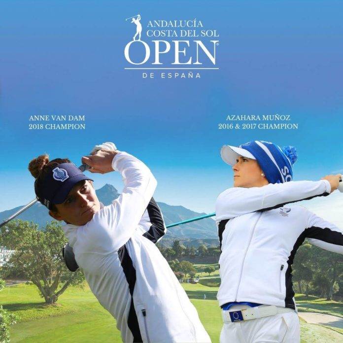 Anne Van Dam & Azahara Muñoz Andalucía Costa del Sol Open de España Femenino