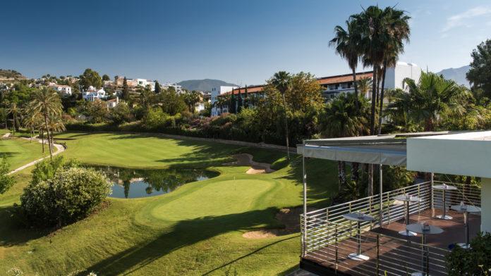 La Quinta Golf Hoyo 19 high view