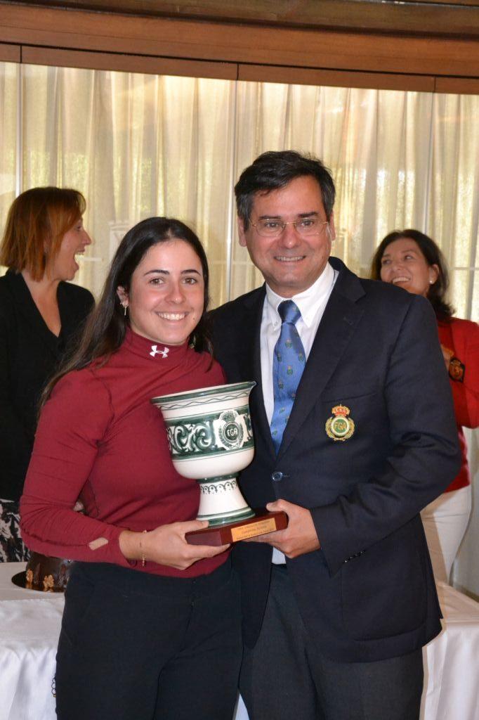 Ana Peláez vence en la Copa Andalucía con una exhibición de principio a fin - Golf Circus