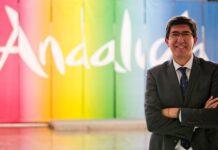 El vicepresidente de la Junta y consejero de Turismo, Juan Marín