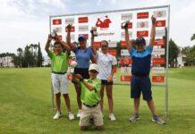 Equipo ganador Pro-Am Santander Golf Tour