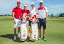 Equipo español de golf Tokio 2020