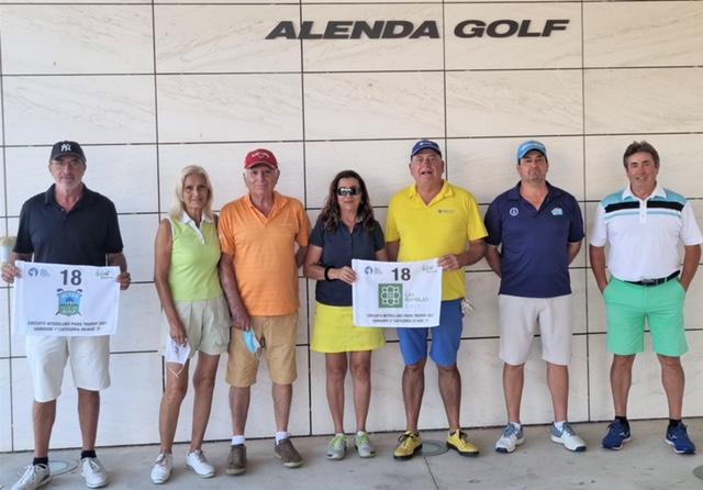 Alenda Golf- Ganador Interclubs Pairs Trophy 2021