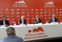 Presentación Estrella Damm N.A. Andalucía Masters